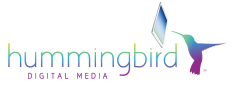 Hummingbird Digital Media Retina Logo